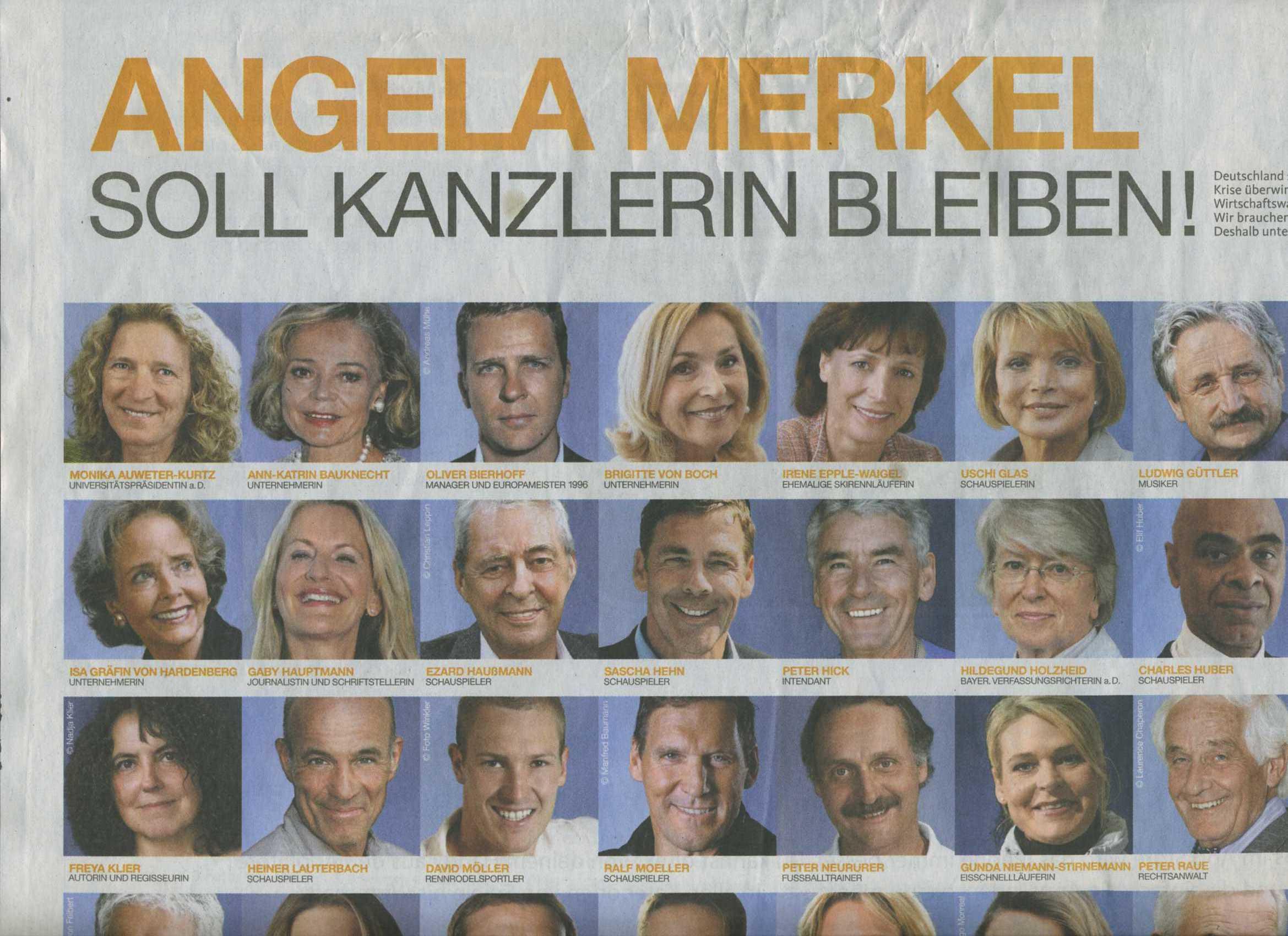 Auweter-Kurtz und Merkel
